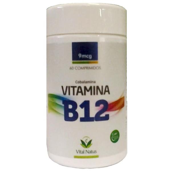 Vitamina B12 60caps x 9mcg