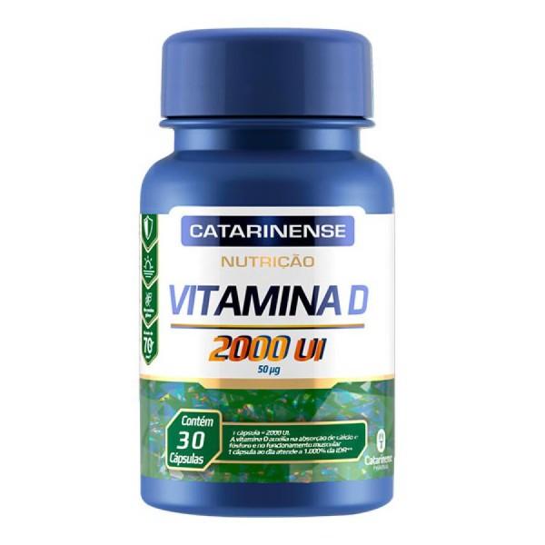 Vitamina D 30 Cápsulas 2000ui
