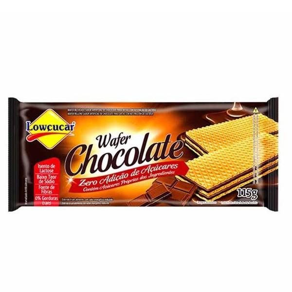 Wafer Chocolate Zero Açúcar 115g