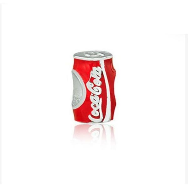 Berloque Prata Lata Coca Cola