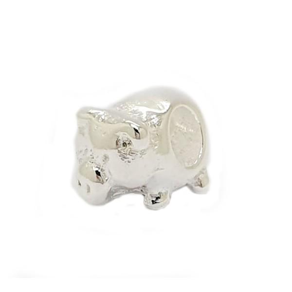 Berloque Prata Porco