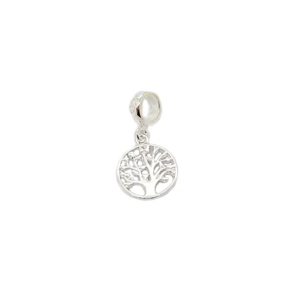 Berloque Prata Árvore da Vida