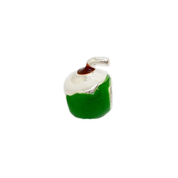 Berloque Prata Água de coco