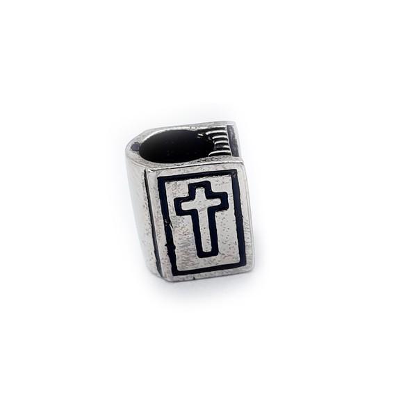 Berloque De Aço Bíblia