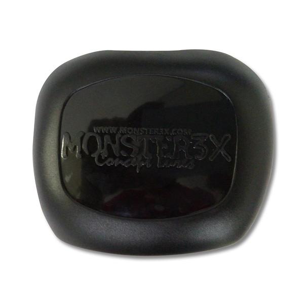 Capa Carretilha Monster 3x X-bubble Preta Esquerda