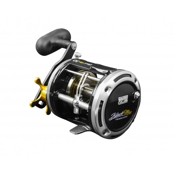 Carretilha Marine Sports New Black Max 50 - (manivela direita)