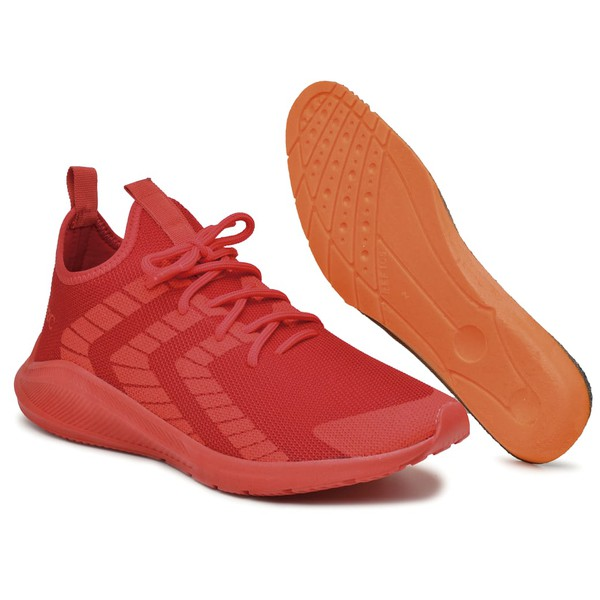 Tenis Masculino de Caminhada Corrida Esporte B2C Vermelho