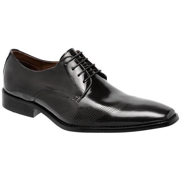 Sapato Social Oxford Cromo Argentino Preto