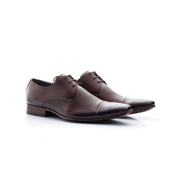 Sapato Social Masculino Couro Mouro 307