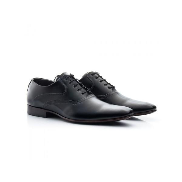 Sapato Social Masculino Couro Preto 340