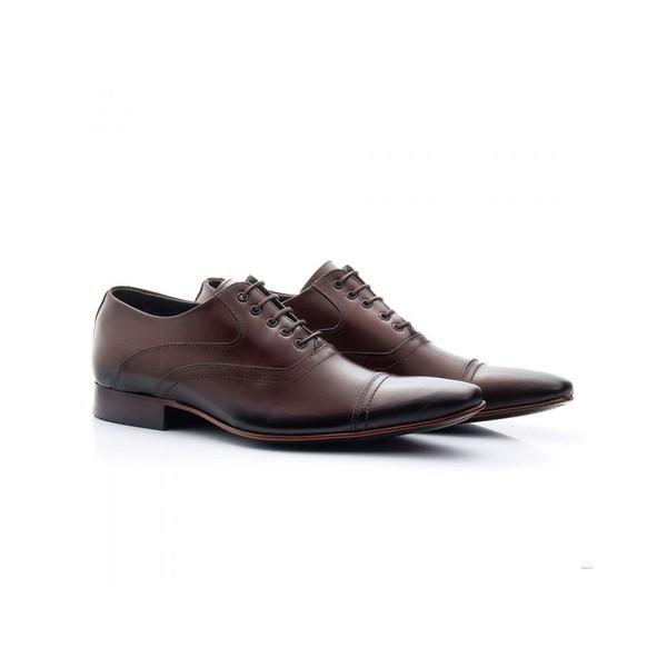 Sapato Social Masculino Couro Mouro 341