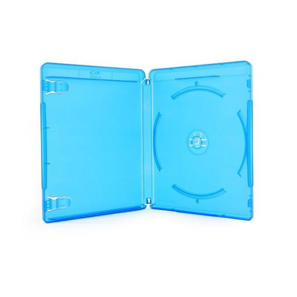 Box DVD Blu Ray Azul c/100un.