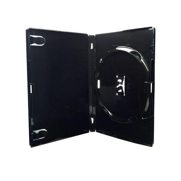 Box DVD Amaray Preto c/50UN.