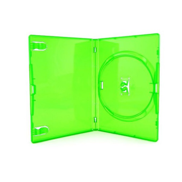 Box DVD Amaray Verde c/50UN.
