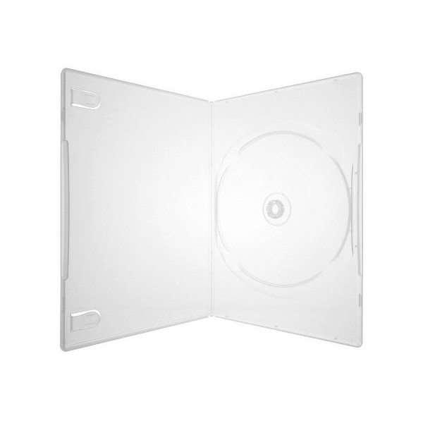Box DVD Amaray Slim Transparente c/50un.