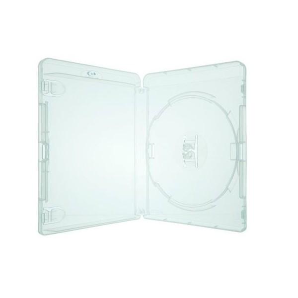 Box DVD Blu Ray Transparente c/05un.