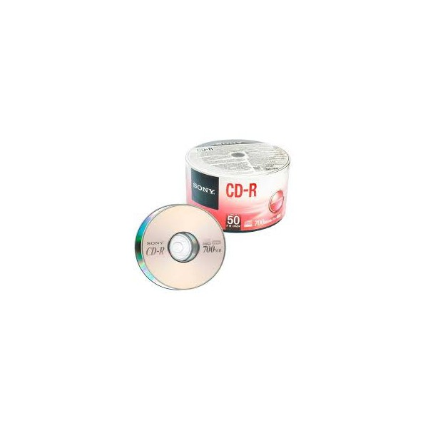 CD-R SONY 700MB /48X LOGO - C/50UN.