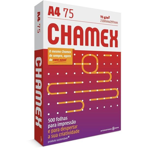 PAPEL SULFITE A4 CHAMEX OFFICE A4 75g - 500 Folhas