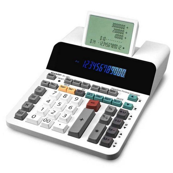 Calculadora Sharp EL-1901V - 12 Dígitos - 110v