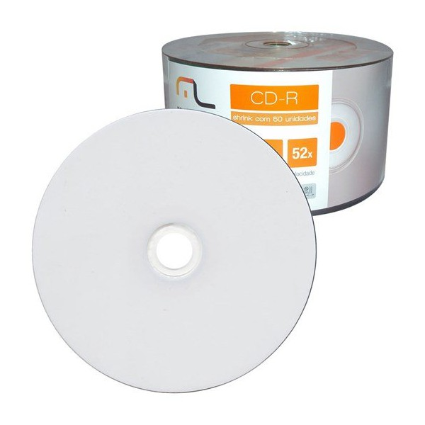 CD-R DATAPRINT 700MB / 52X - PRINTABLE C/50UN.