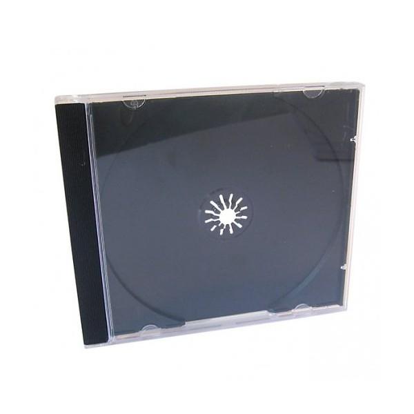 Box CD Acrílico Bandeja Preta c/50un.