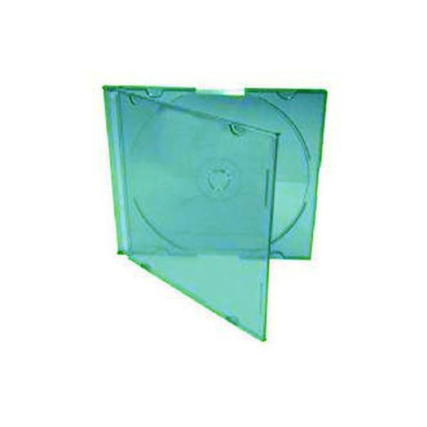 Box CD Acrílico Slim - Verde c/05un.