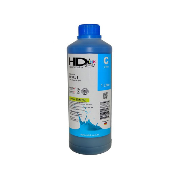 Tinta UV Compatível Epson / Brother - 500ml - Ciano