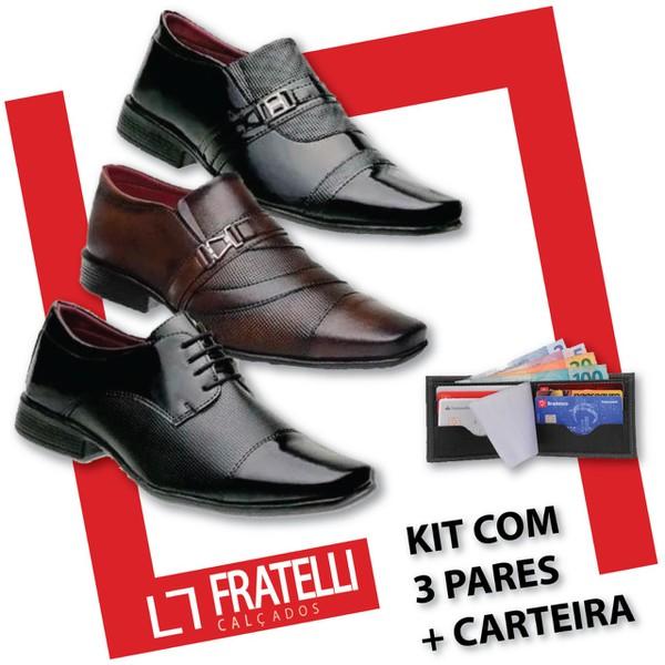 Kit 3 Pares - 838FC/801VP/840VP + CARTEIRA