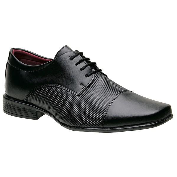 Sapato Social Preto 801Fp