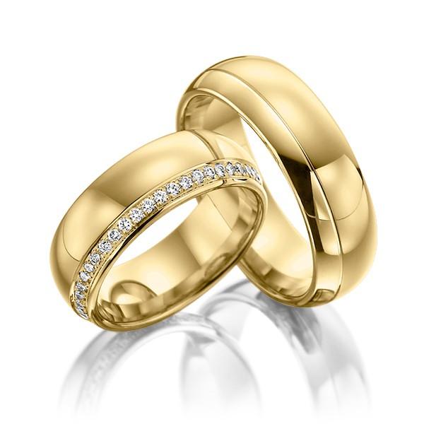 Aliança em Ouro 18k Casamento