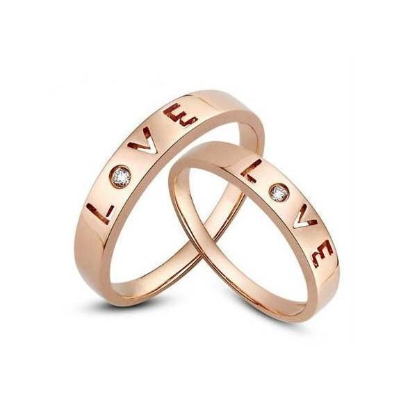Aliança de Casamento Love