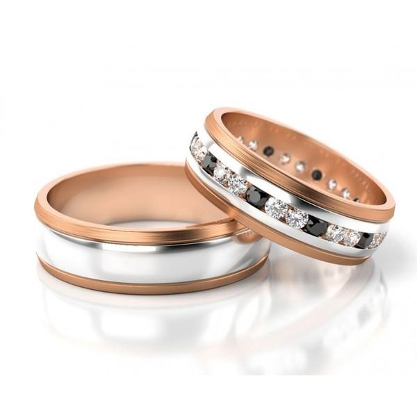 Alianças de Casamento com Diamantes Black
