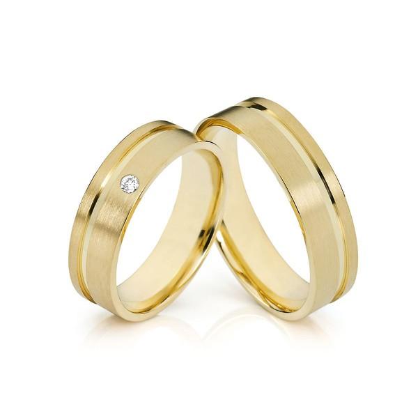 Aliança Ouro 18k 750 - Casamento e Noivado