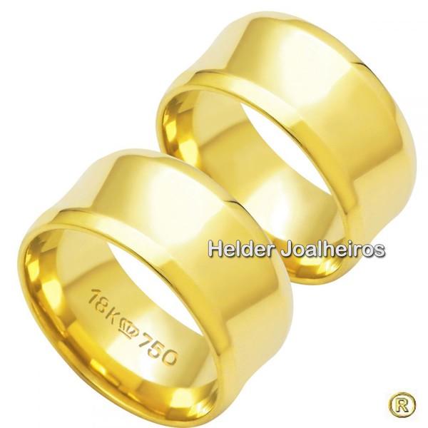 Aliança de Ouro 18k Casamento