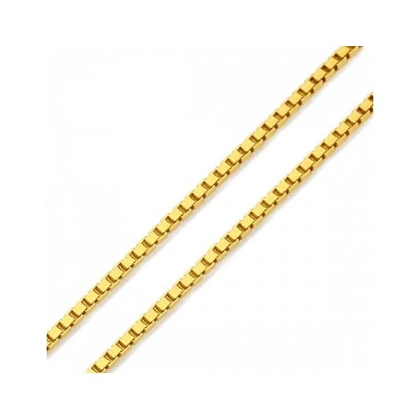 Corrente Veneziana 45cm em Ouro Amarelo 18k