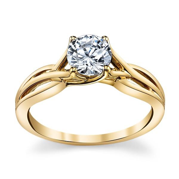 Solitário em Ouro 18k com Diamante de 30 Pontos