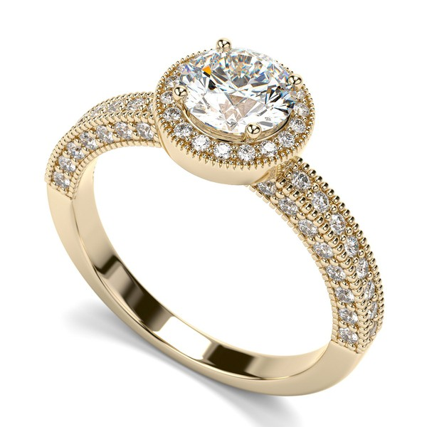 Solitário com Diamantes de 80 Pontos
