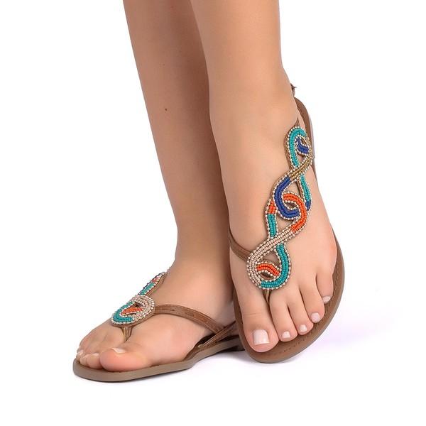 Sandália Multi Cores