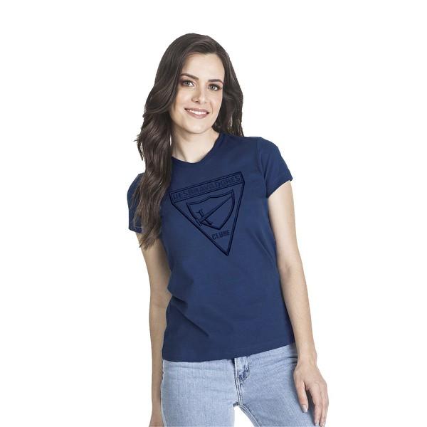 Camiseta Baby Look Bordada DBV Feminina