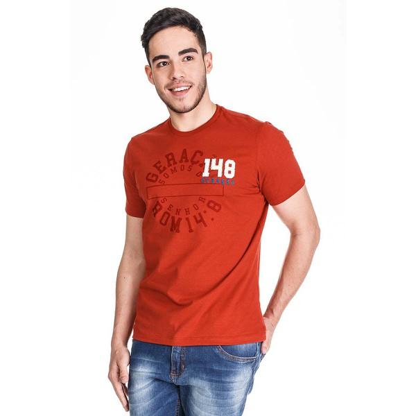 Camiseta Geração 148 2019 Vermelho Terracota