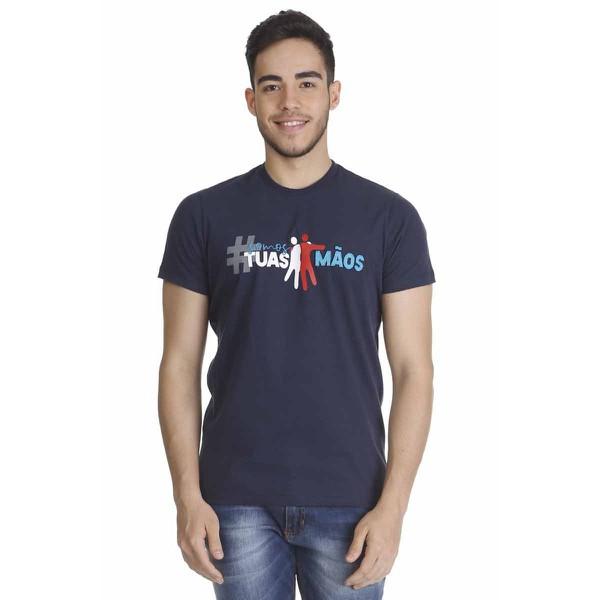 Camiseta Somos Tuas Mãos Logo Oficial