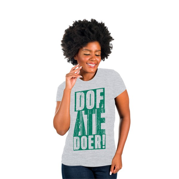 Camiseta Baby Look ADRA Doe Até Doer
