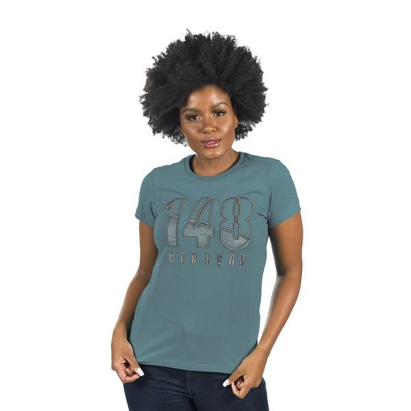 Camiseta Baby Look Geração 148 2020 Verde