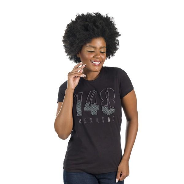 Camiseta Baby Look Geração 148 2020 Preta