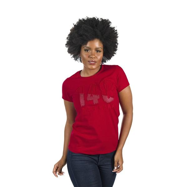 Camiseta Baby Look Geração 148 2020 Vermelha