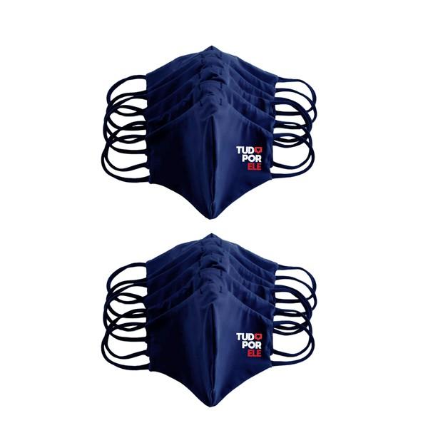 Kit 10 Máscaras Anatômicas Tudo Por Ele