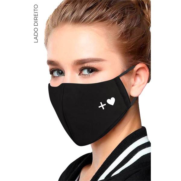 Máscara Unissex Mais Amor