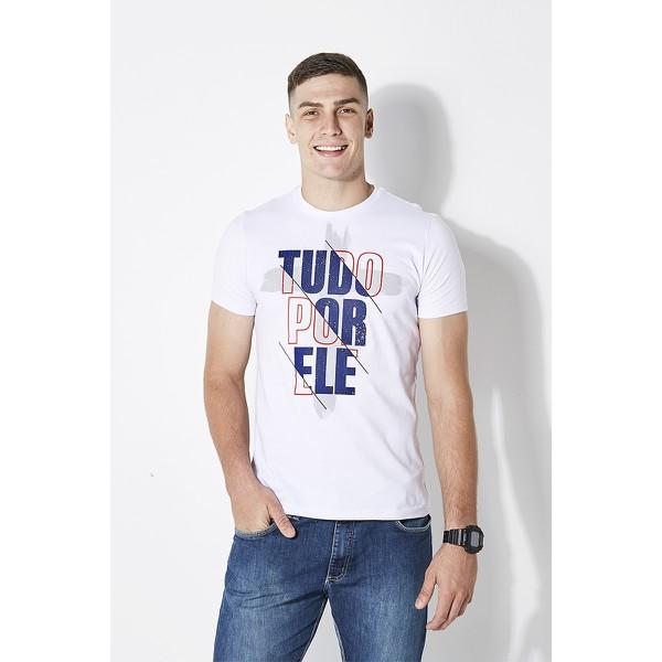Camiseta Tudo Por Ele Cruz