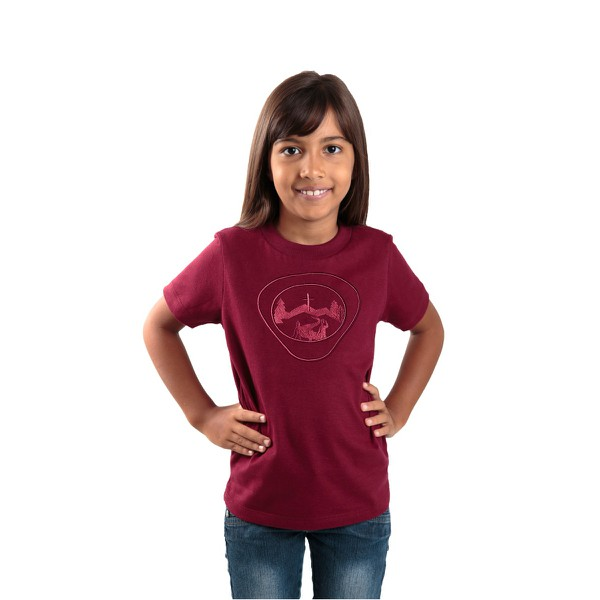 Camiseta Infantil Aventureiros Bordada