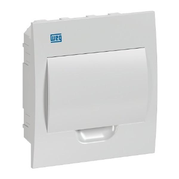 Quadro para 8 Disjuntores Embutir Branco QDW02-8-BE Weg